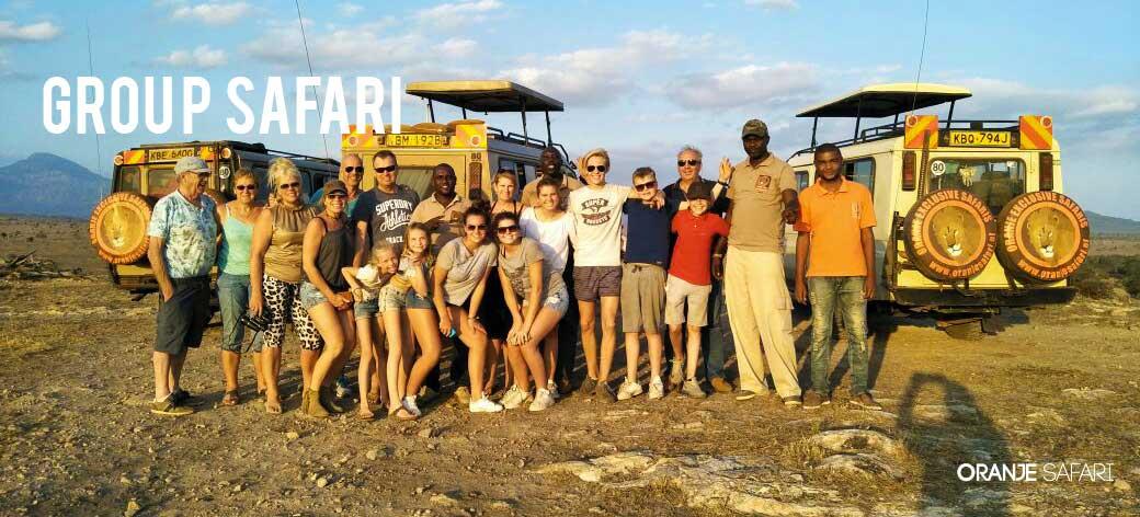 Oranje Safari Groep Safari Kenia