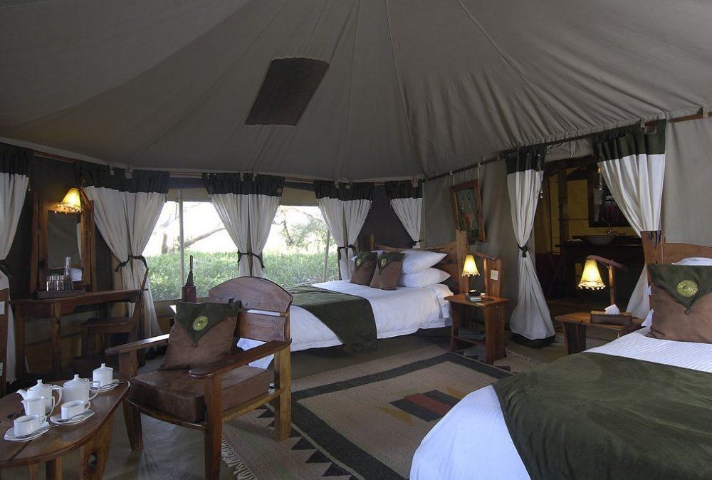 SAMBURU ELEPHANT BEDROOM CAMP KENYA